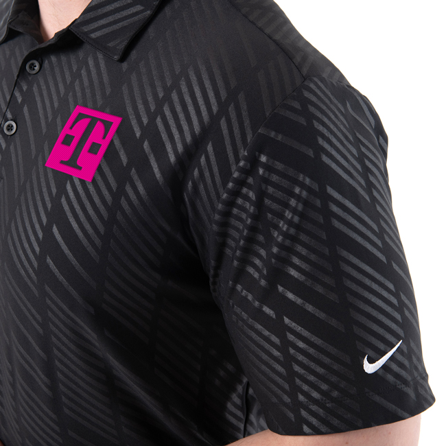 Nike Embossed Polo
