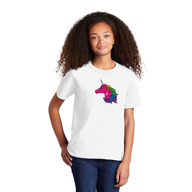 Unicorn Youth Pride Tee