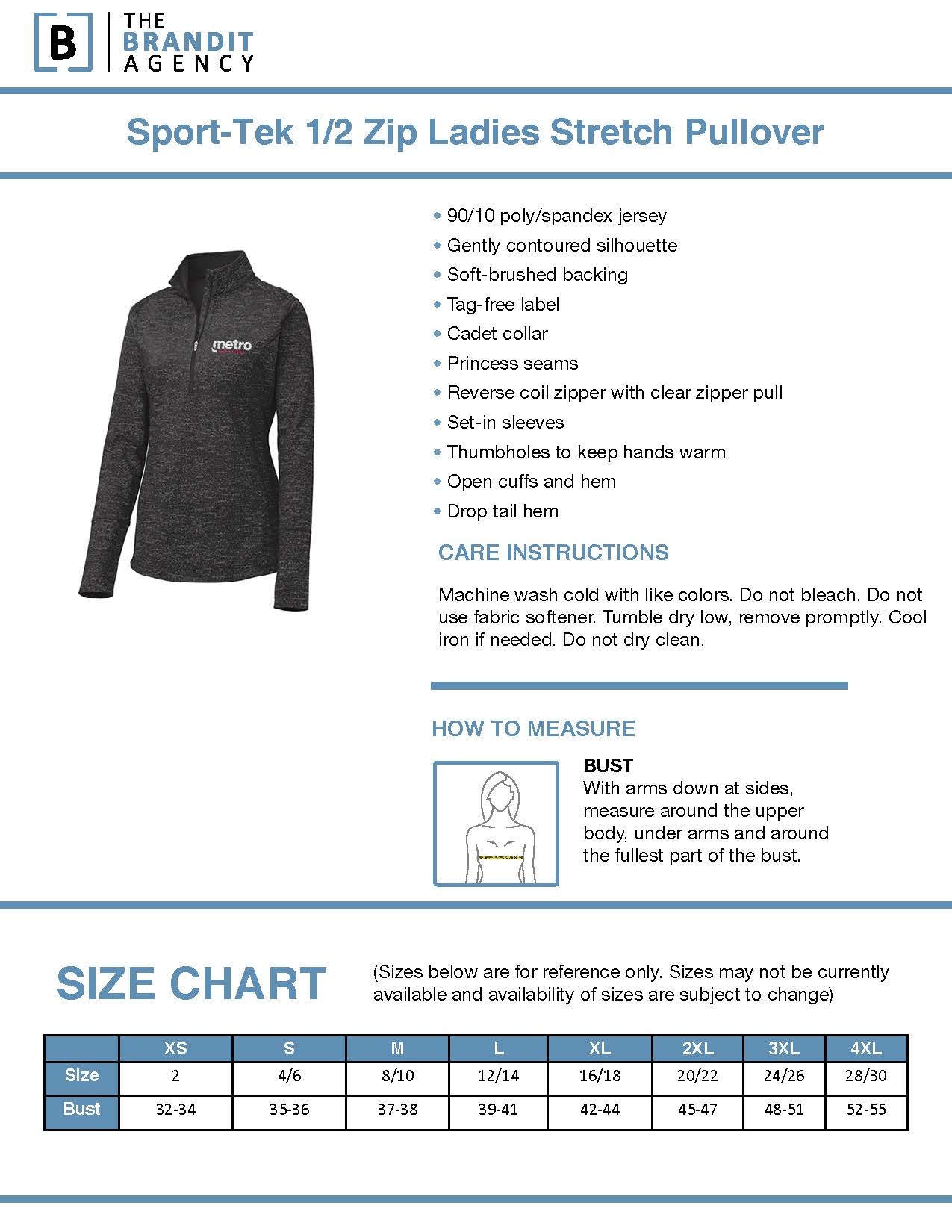 Womens Sport Tek 1 2 Zip Stretch Pullover Yes available at sportek retail store: t mobile gear