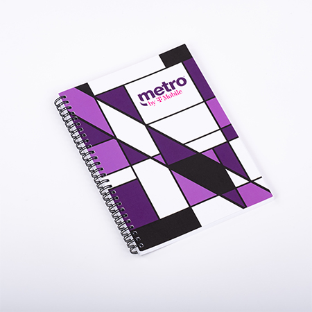 Metro Spiral Daily Planner