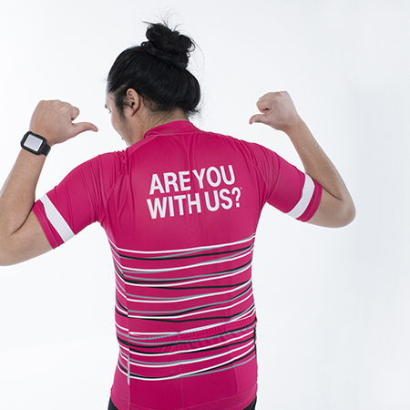 Are You With Us - Cycling Jersey
