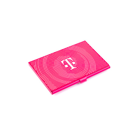 Magenta Business Card Case